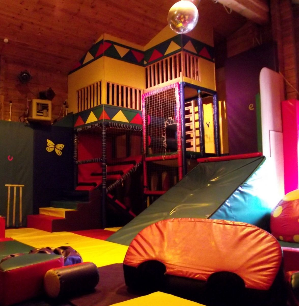 Indoor softplay at Thames Valley Adventure Playground